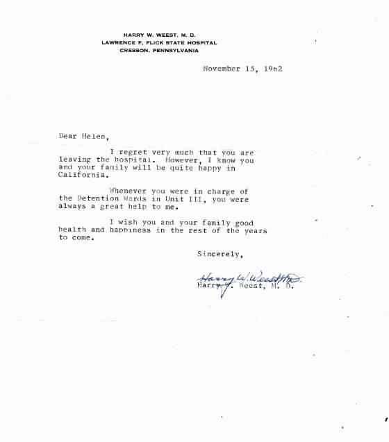 recommendation letter for nurses